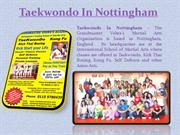 Taekwondo In Nottingham