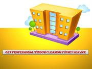 Professional Window Cleaning Sydney Service