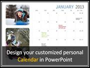 How to Make a Calendar in PowerPoint