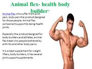 Animal flex-Support health joints