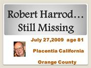Robert Harrod Missing