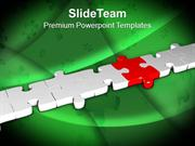 Fill The Gap Of Bridge For Better Growth PowerPoint Templates PPT Them