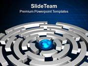 Find The Way To Come Out PowerPoint Templates PPT Themes And Graphics