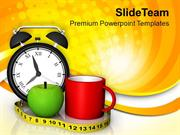 Take Breakfast On Time PowerPoint Templates PPT Themes And Graphics 05