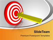Achieve Your Target Business PowerPoint Templates PPT Themes And Graph