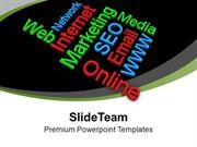 Internet Marketing Words Strategy PowerPoint Templates PPT Themes And