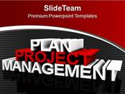 Project Planning And Management PowerPoint Templates PPT Themes And Gr