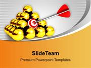 Target Achieved Business Theme PowerPoint Templates PPT Themes And Gra