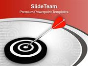 Target Achievement For Business Theme PowerPoint Templates PPT Themes