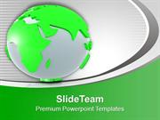 Global Green Environment Theme PowerPoint Templates PPT Themes And Gra