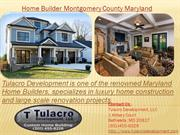 Home Builder Montgomery County Maryland
