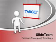 3d Man With Target PowerPoint Templates PPT Themes And Graphics 0413