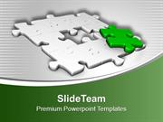 3d Representation Of Puzzle PowerPoint Templates PPT Themes And Graphi