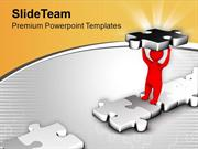 Fill The Gap Make A Bridge PowerPoint Templates PPT Themes And Graphic