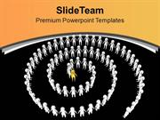 Right Way For Business Growth PowerPoint Templates PPT Themes And Grap