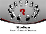 Solve The Matter In Business Meeting PowerPoint Templates PPT Themes A