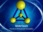 Abstract Model Of Atoms Science PowerPoint Templates PPT Themes And Gr
