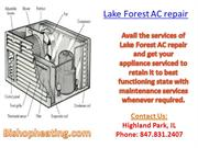 Lake Forest AC repair