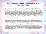 Exactly what you need Understand A Auto Insurance Policy