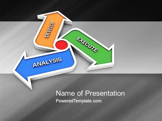 iteration powerpoint template by poweredtemplatecom authorstream