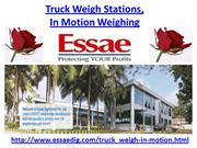 Truck Weigh Stations, In Motion Weighing