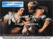 Biblical Women Widow of Zarephath