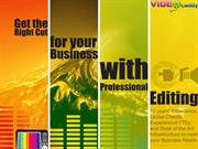 Video Editing and Audio Editing Services