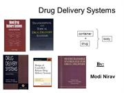 Drug Delivery Systems by Nirav