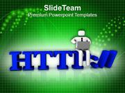 Communication Concept Global Networking PowerPoint Templates PPT Theme