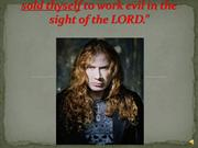 MEGADETH, Dave Mustaine, SLAYER & Satan Worship