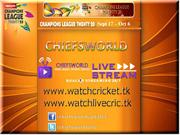 CLT20 2013 FIXTURES AND SCHEDULE