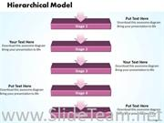 5 Staged Hierarchical Model