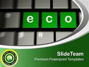 Become Eco Friendly For Safe Nature PowerPoint Templates PPT Themes An