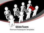 Do The Team Efforts This New Year PowerPoint Templates PPT Themes And