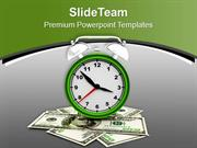 Doller Growth Depends On Time PowerPoint Templates PPT Themes And Grap