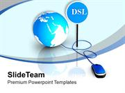 DSL Can Block Unwanted Web Apllication PowerPoint Templates PPT Themes