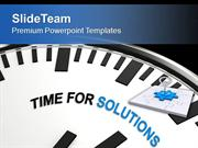 Find The Right Time For Solution PowerPoint Templates PPT Themes And G