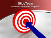 Hit The Target And Achieve Success PowerPoint Templates PPT Themes And