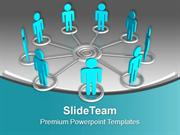 Maintain A Network For Better Business PowerPoint Templates PPT Themes