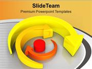 Move Around Target In Business PowerPoint Templates PPT Themes And Gra