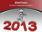 Move Towards New Era This Year PowerPoint Templates PPT Themes And Gra