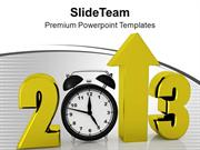 New Year Celebration With Creativity PowerPoint Templates PPT Themes A