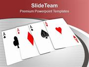 Play The Cards And Enjoy PowerPoint Templates PPT Themes And Graphics