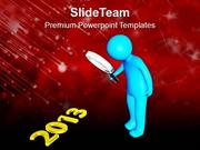 Find New Concept This New Year 2013 PowerPoint Templates PPT Themes An