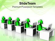 Stablish Good Communication With Clients PowerPoint Templates PPT Them