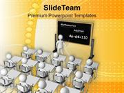 Teach The Math To Student PowerPoint Templates PPT Themes And Graphics