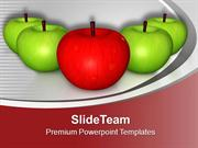 Apples Are Very Healthy To Eat PowerPoint Templates PPT Themes And Gra