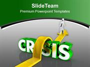 Jump The Crisis For Success PowerPoint Templates PPT Themes And Graphi