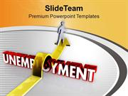 Jump The Unemployment To Get Job PowerPoint Templates PPT Themes And G