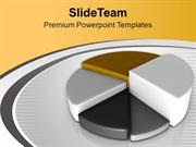 Pie Chart For Business Growth PowerPoint Templates PPT Themes And Grap